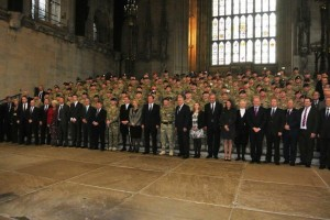 Westminster Troops Parade